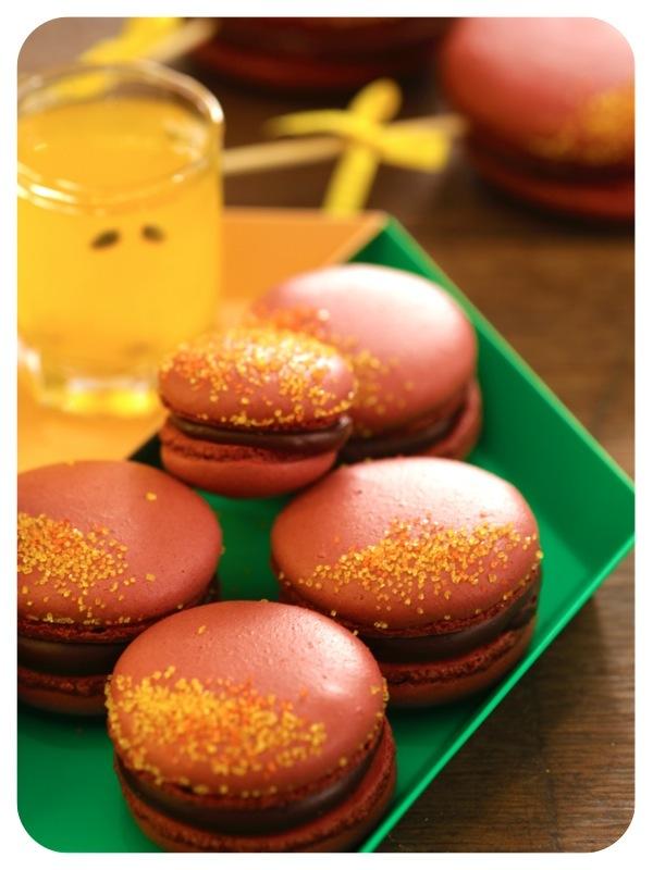 macaron chocolat2