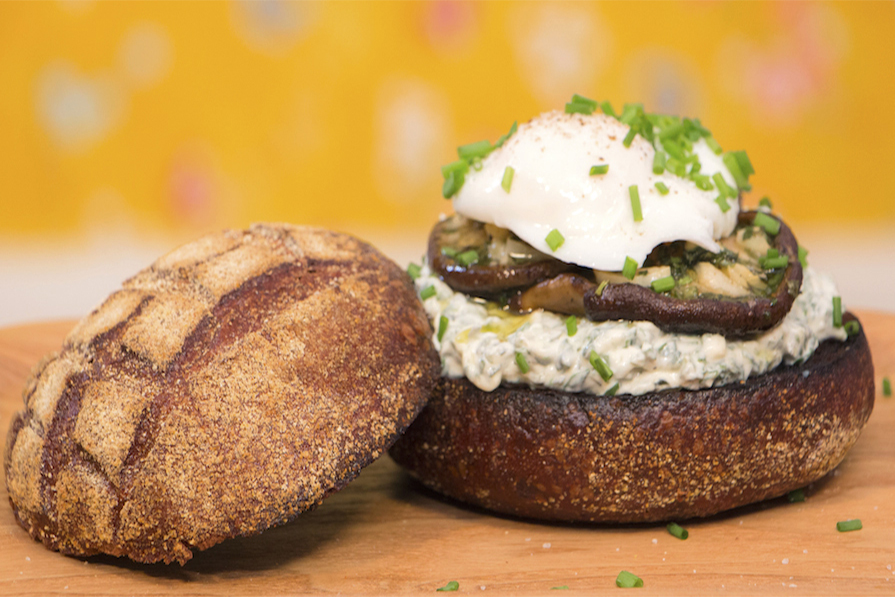 Sanduíche de Cogumelo