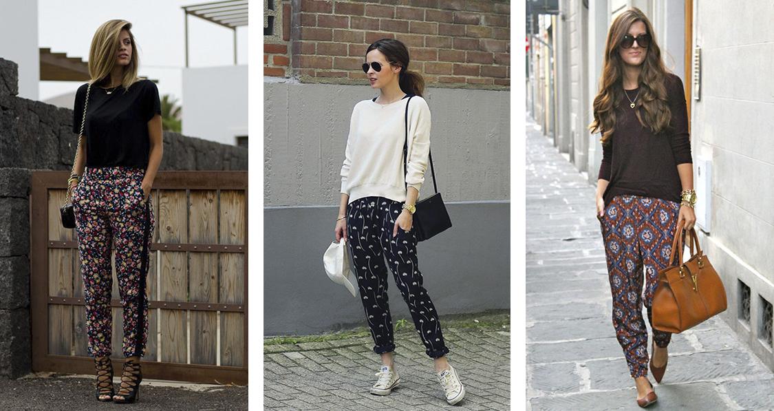Como usar calça estampada - Danielle Noce 6cfffd25099