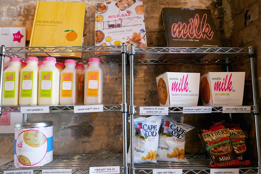 Momofuku Milk Bar: Delicinhas em Nova York