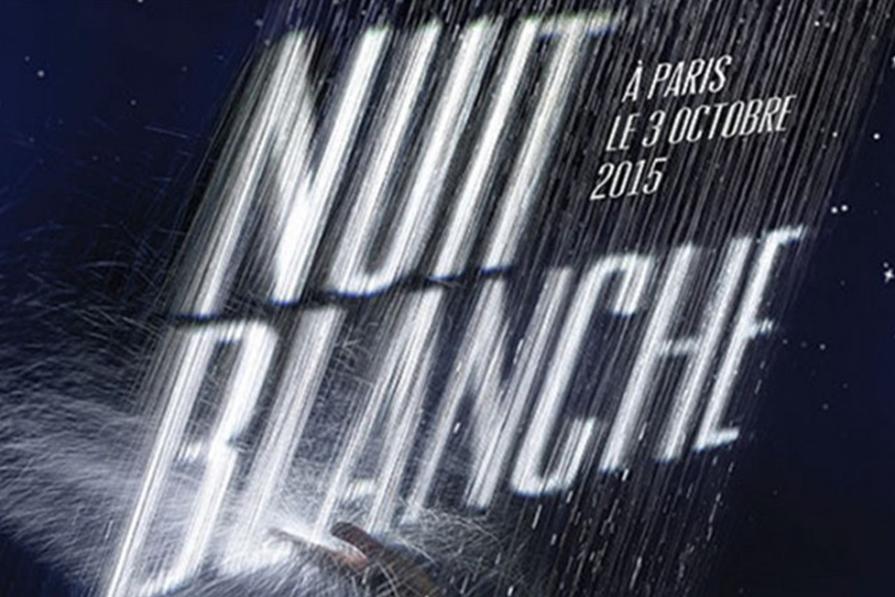 Nuit Blanche, a noite mais artística de Paris