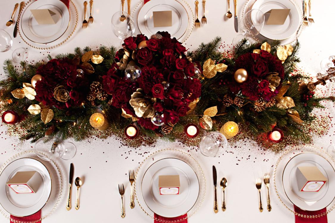 Dicas Para Decorar Sua Mesa De Natal Danielle Noce