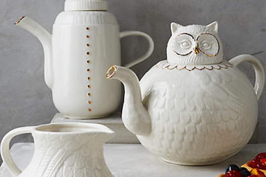 Hora do chá (ou café)!