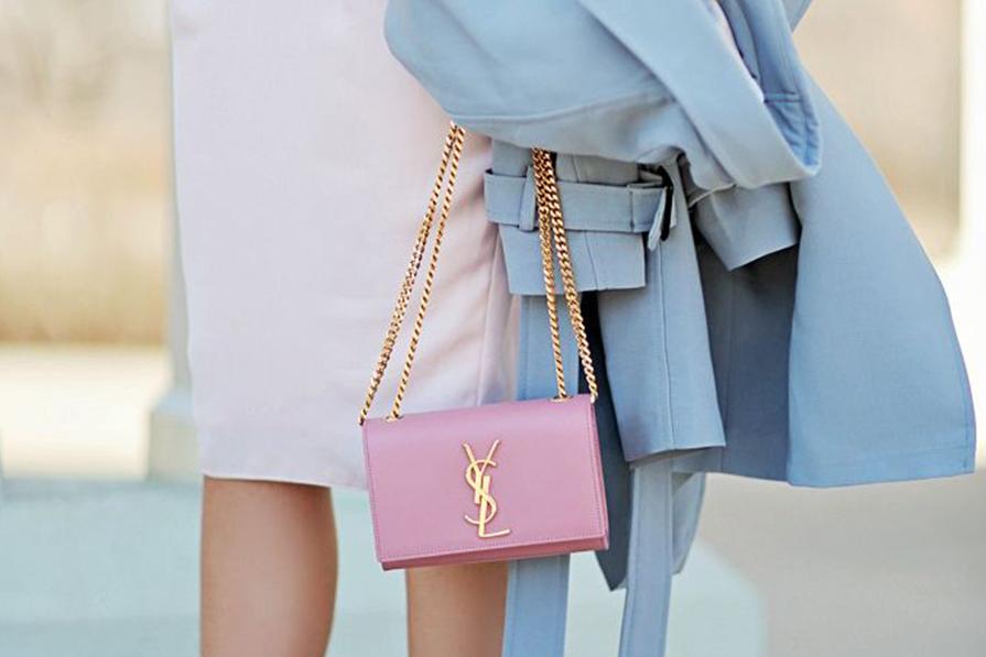 Rosa Quartz e Azul Serenity na moda