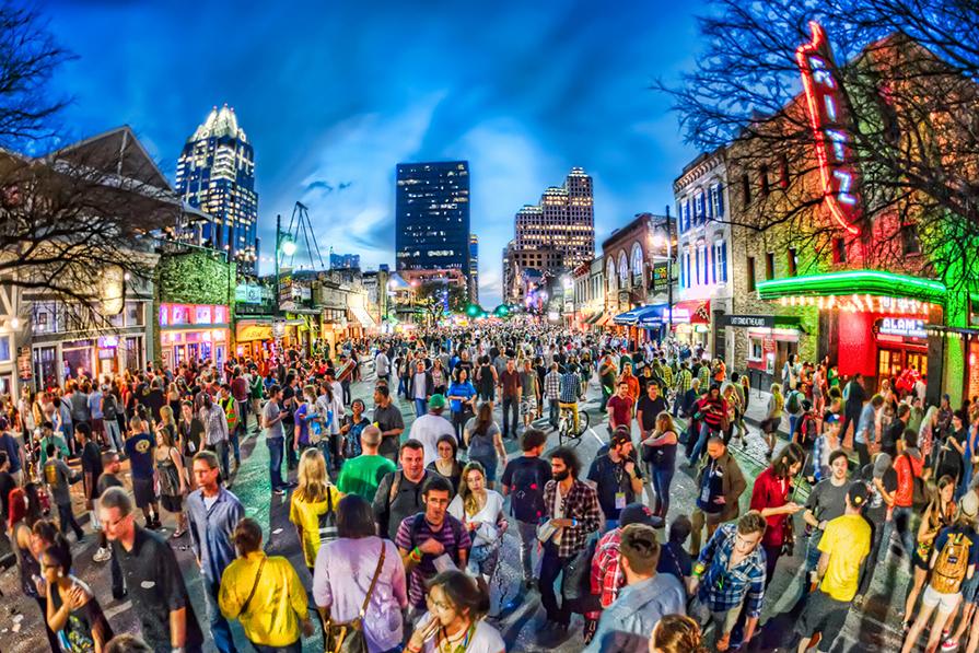 Tecnologia, música e cinema: SXSW Festival