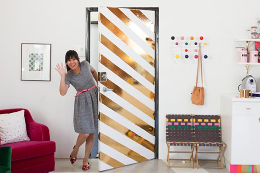 Portas decoradas!