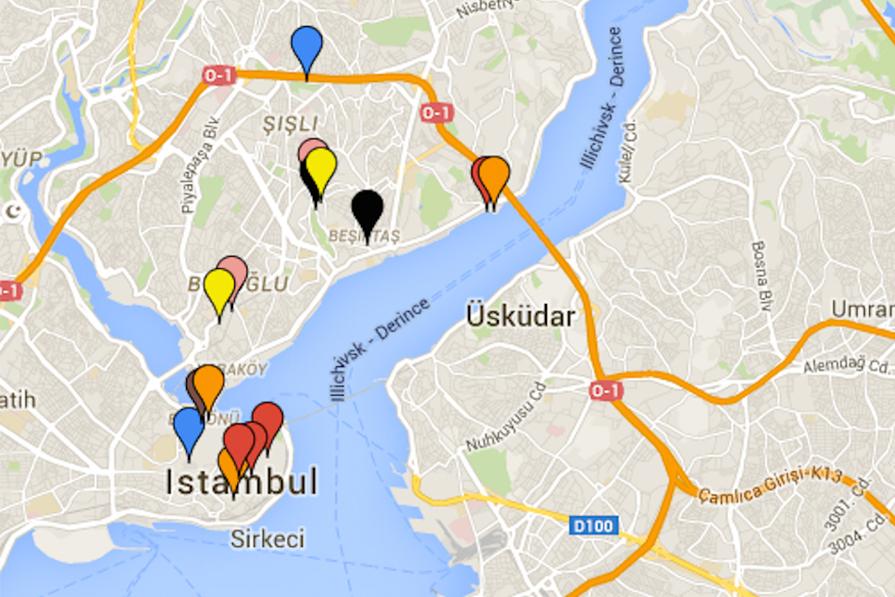 Meu Roteiro: Istambul!