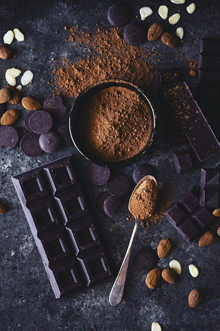 Sobre cacau 100%, chocolate em pó e achocolatado
