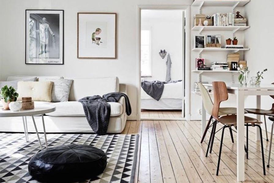 Influência nórdica: salas!