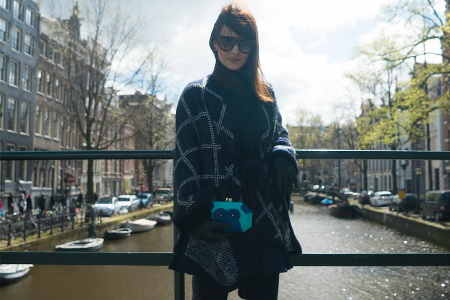 Pedalando em Amsterdam