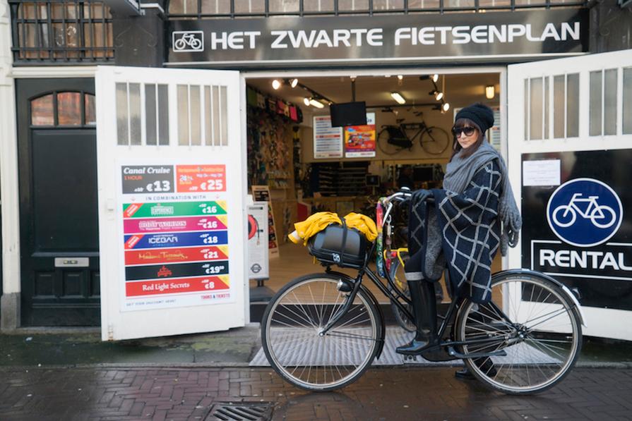 Alugar bikes em Amsterdam