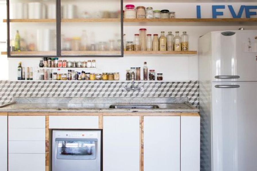 Inove na Cozinha: Revestimentos pela Metade