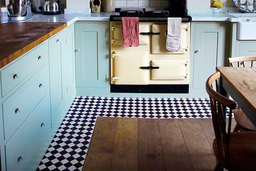 Cozinhas: tudo azul!