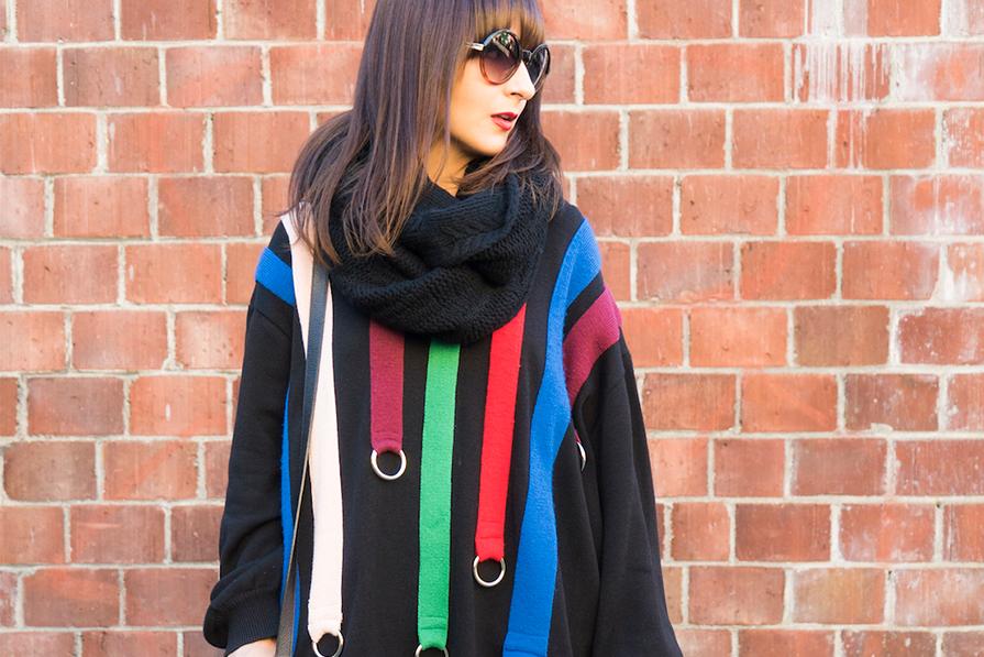 Vestido de tricot para o friozinho