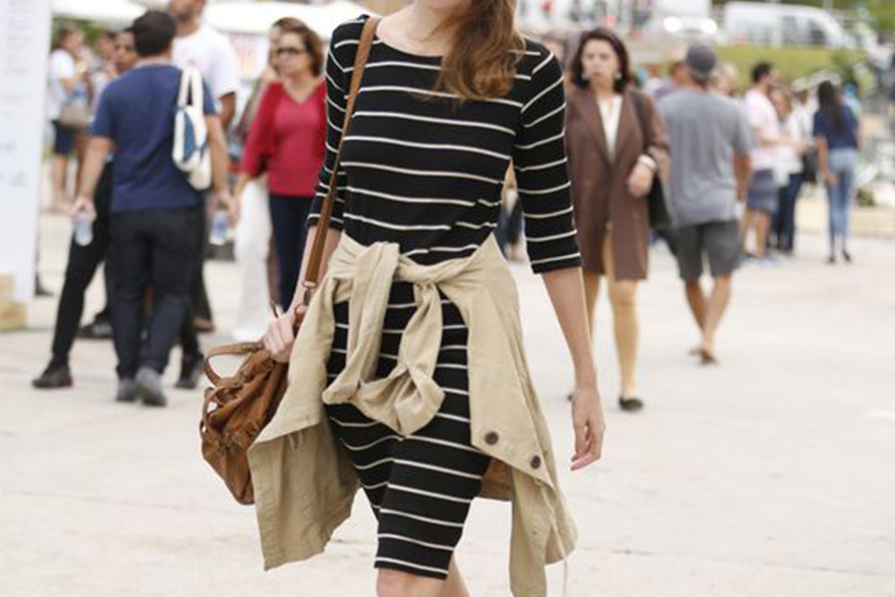 Como usar vestido midi justinho?