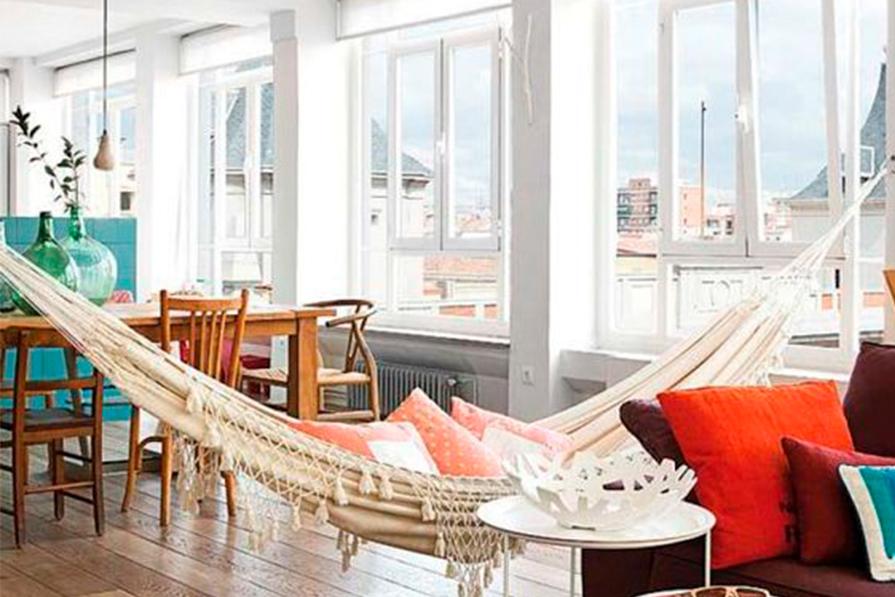 Casa com ar tropical