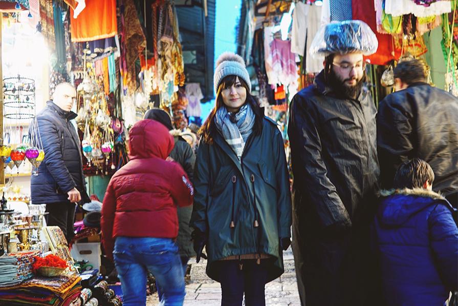Look Israel: frio e chuva