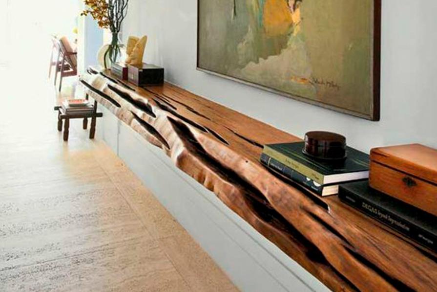 Como usar troncos na decoração?