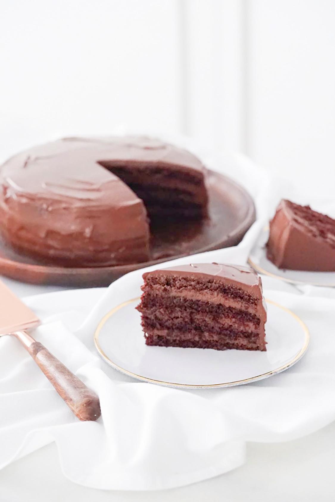 Bolo De Chocolate Perfeito Supermolhado E Escuro Danielle Noce