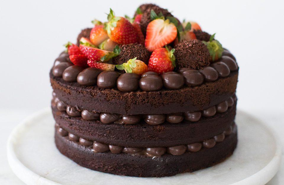 Recheio de Chocolate: 9 Ideias para bolos bem chocolatudos!