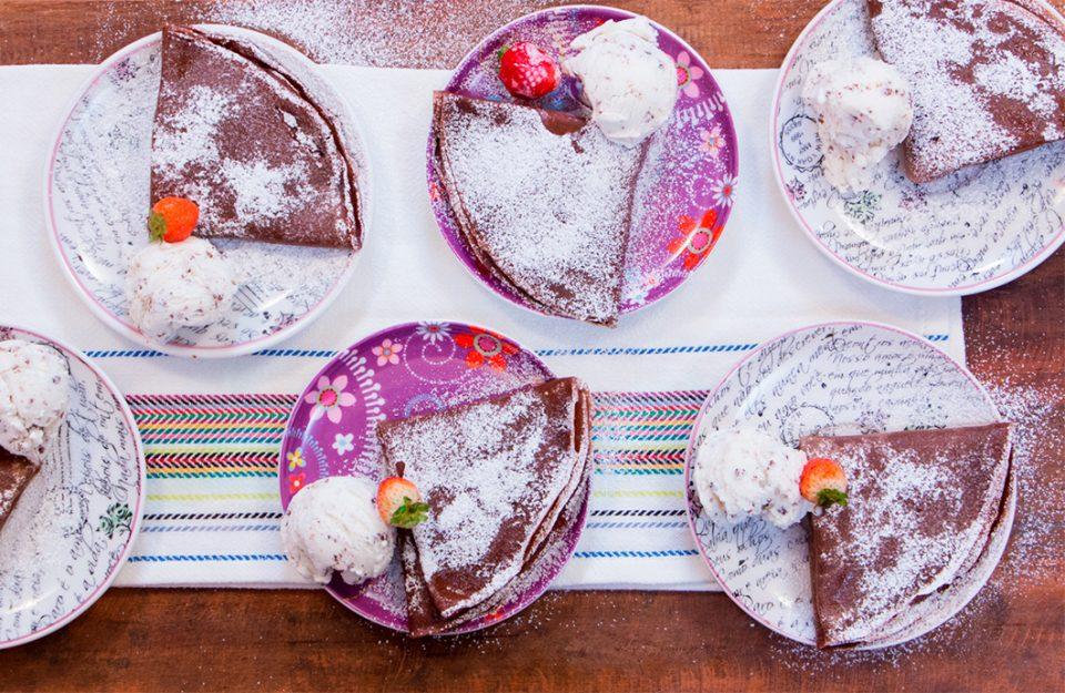 5 Crepes Deliciosos para Testar!