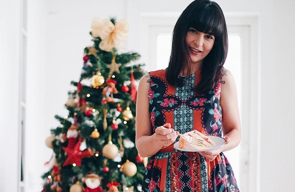 Look para o Natal: Vestido Midi Versátil