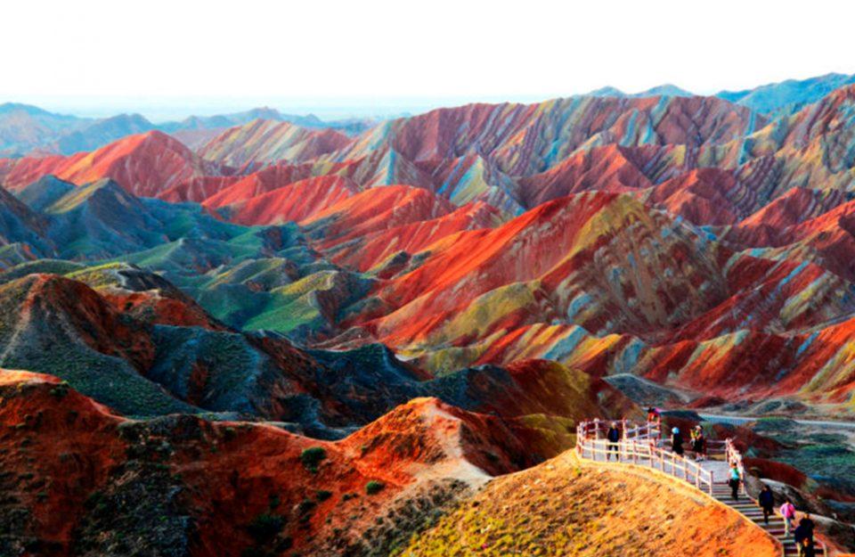 Paisagem Natural: As Montanhas e Rochas Mais Coloridas do Mundo