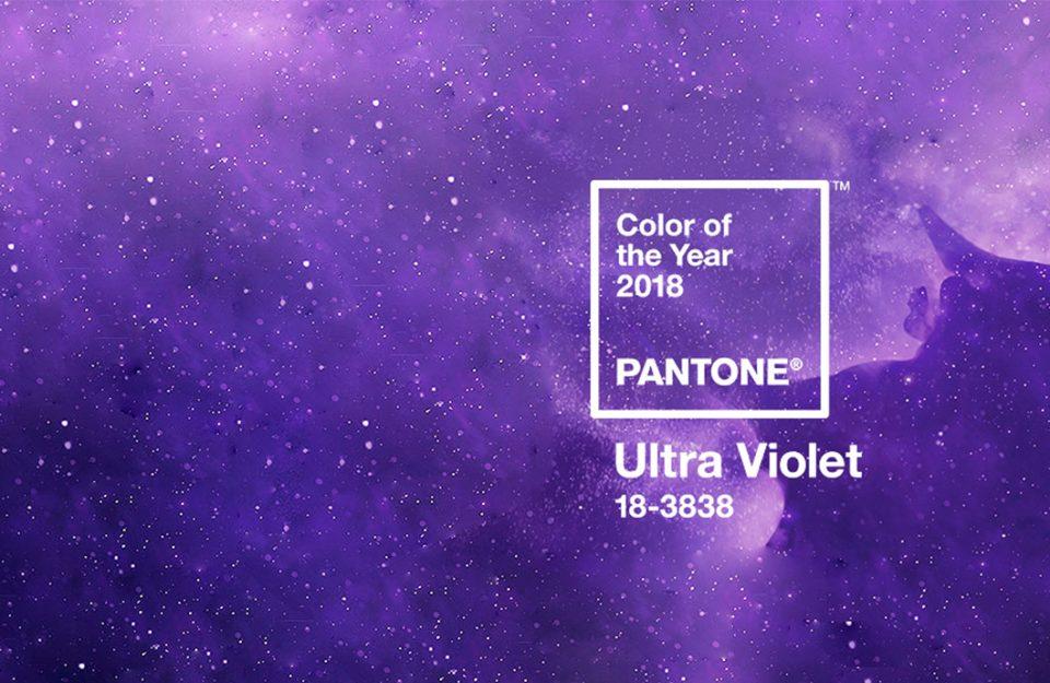 Ultra Violet: A cor de 2018!