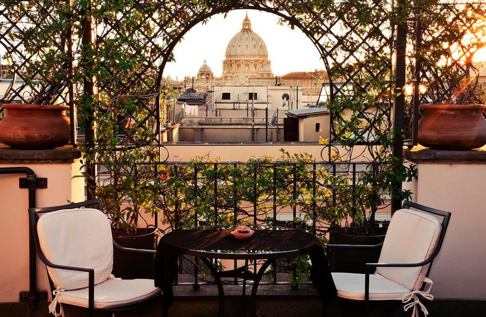 Os melhores hotéis boutique de Roma