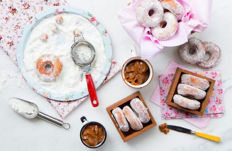 Donuts e Rosquinhas para Fazer Já!