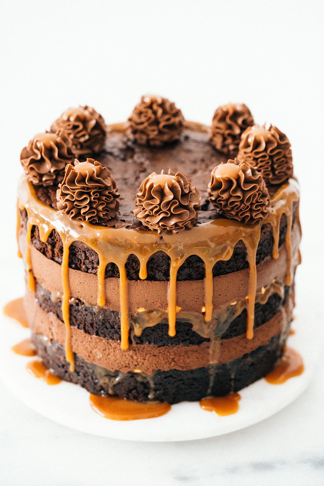 Bolo trufado de morango e chocolate - Amando Cozinhar