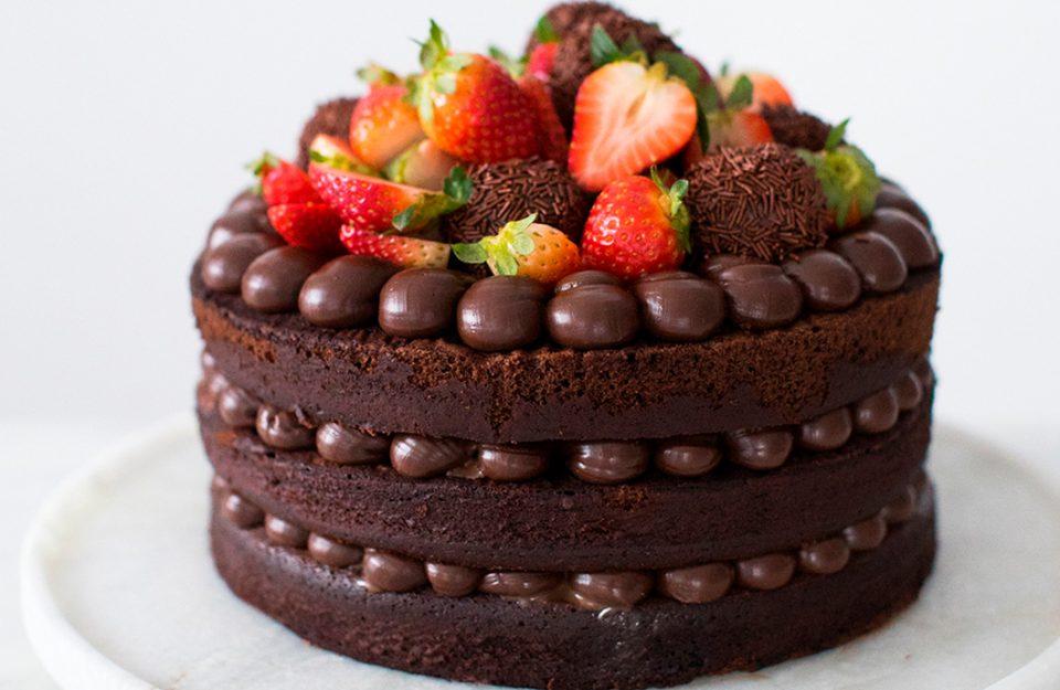 9 Receitas Deliciosas de Naked Cake