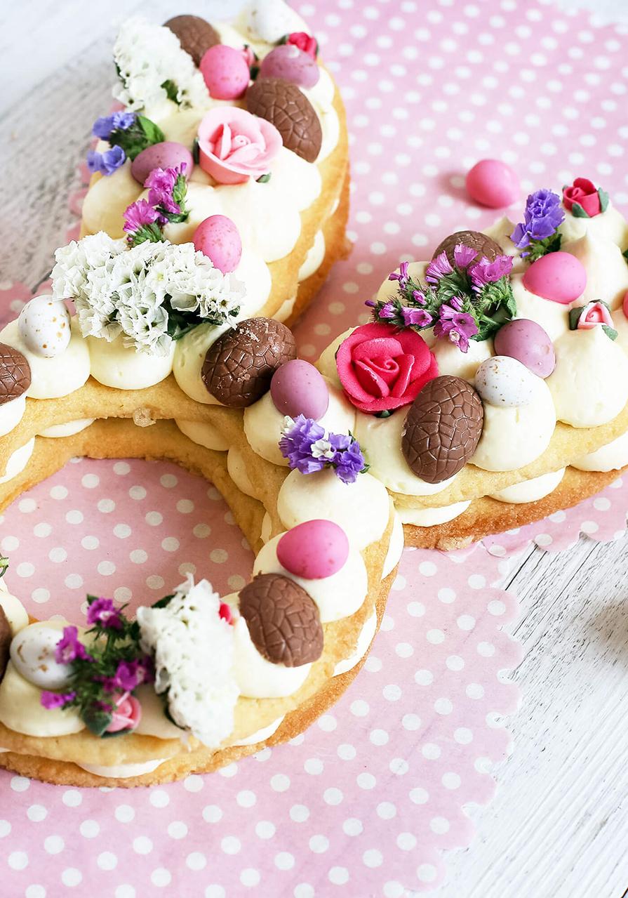 decoração de páscoa para bolo