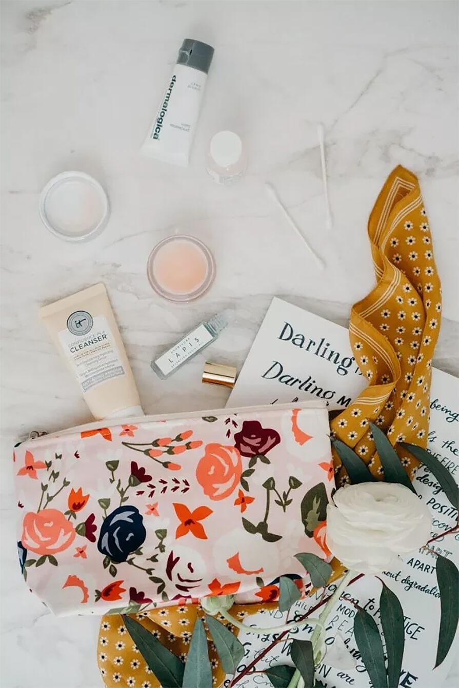 produtos de skin care
