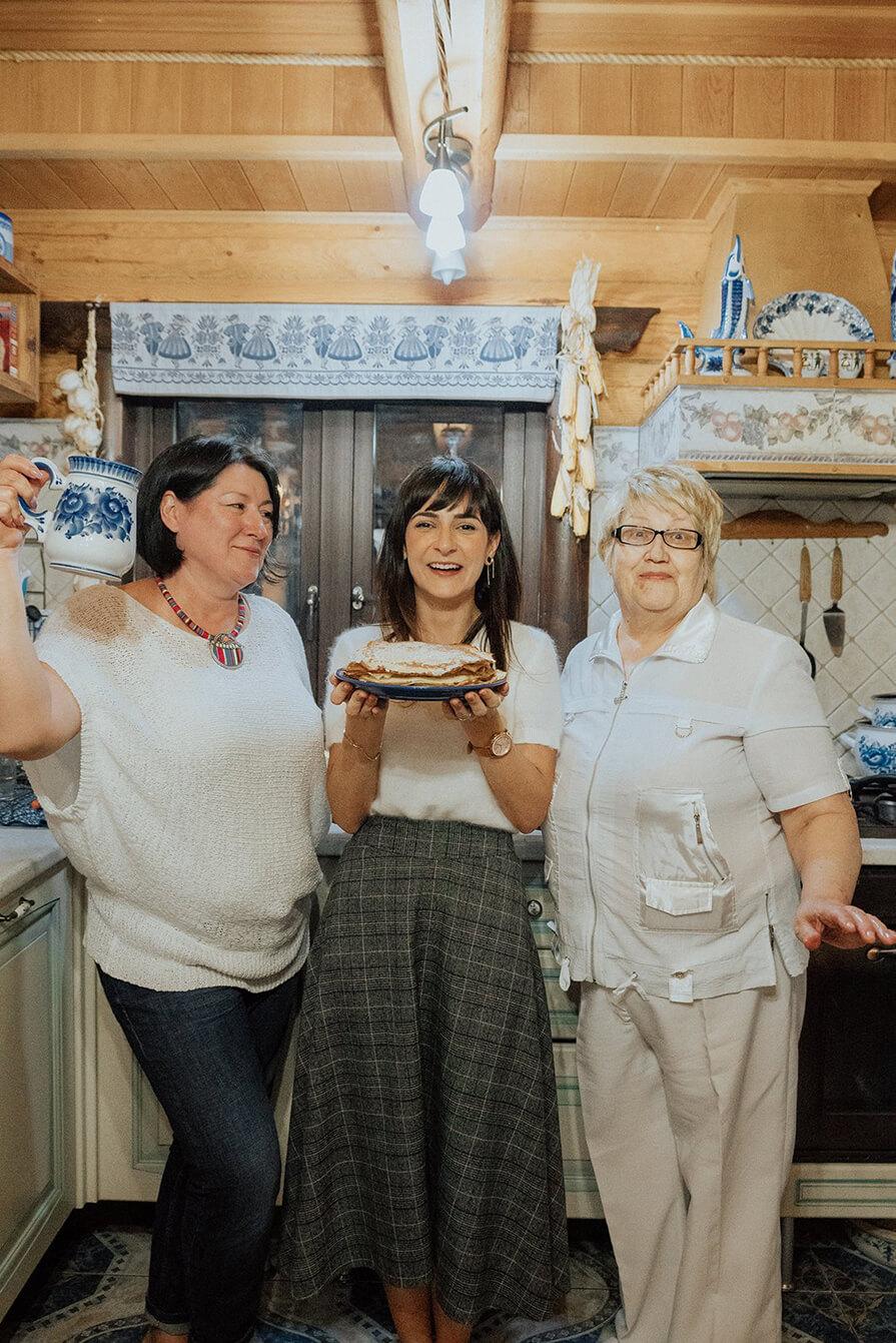 experiência culinária em casa típica na Rússia