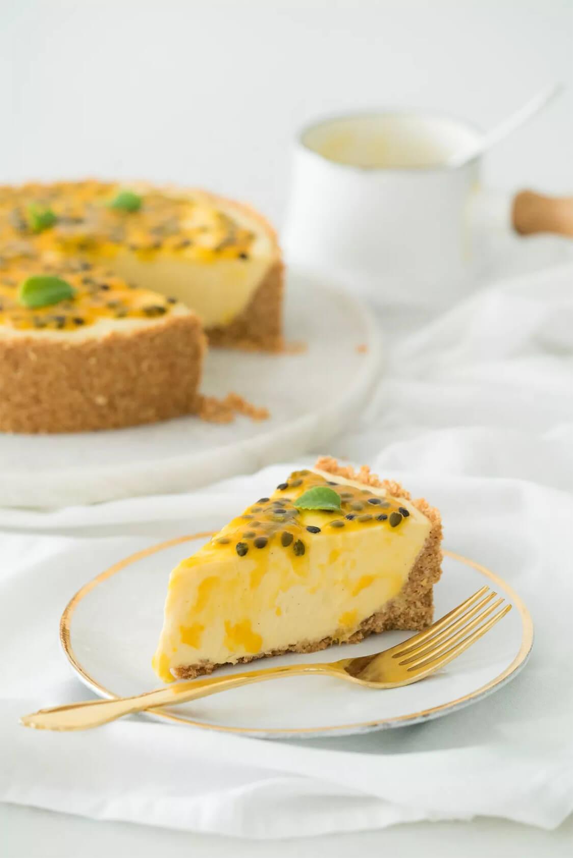 cheesecake de maracuja