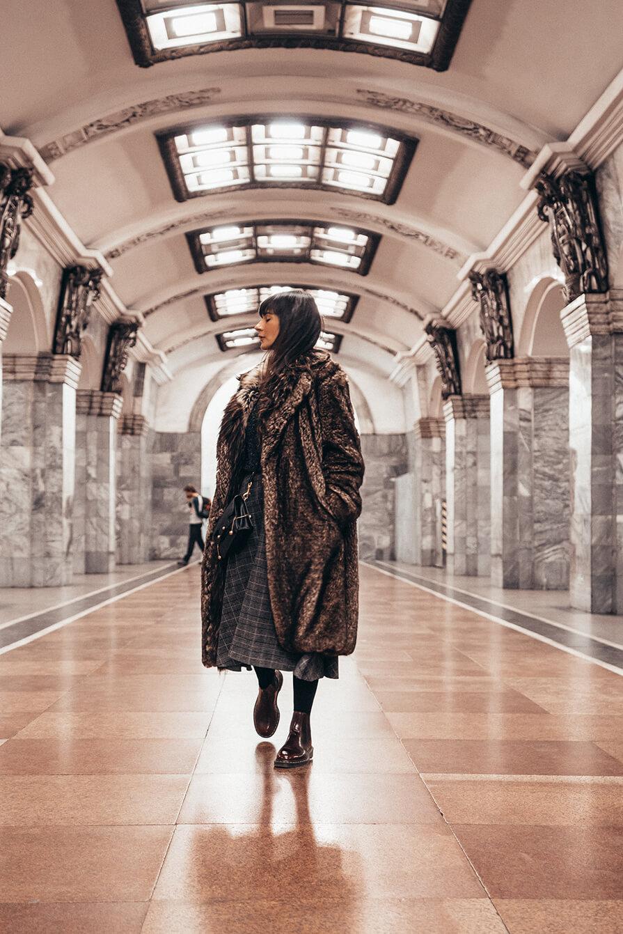 metrô na Rússia