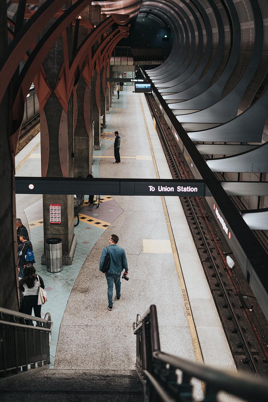 metrô em los angeles