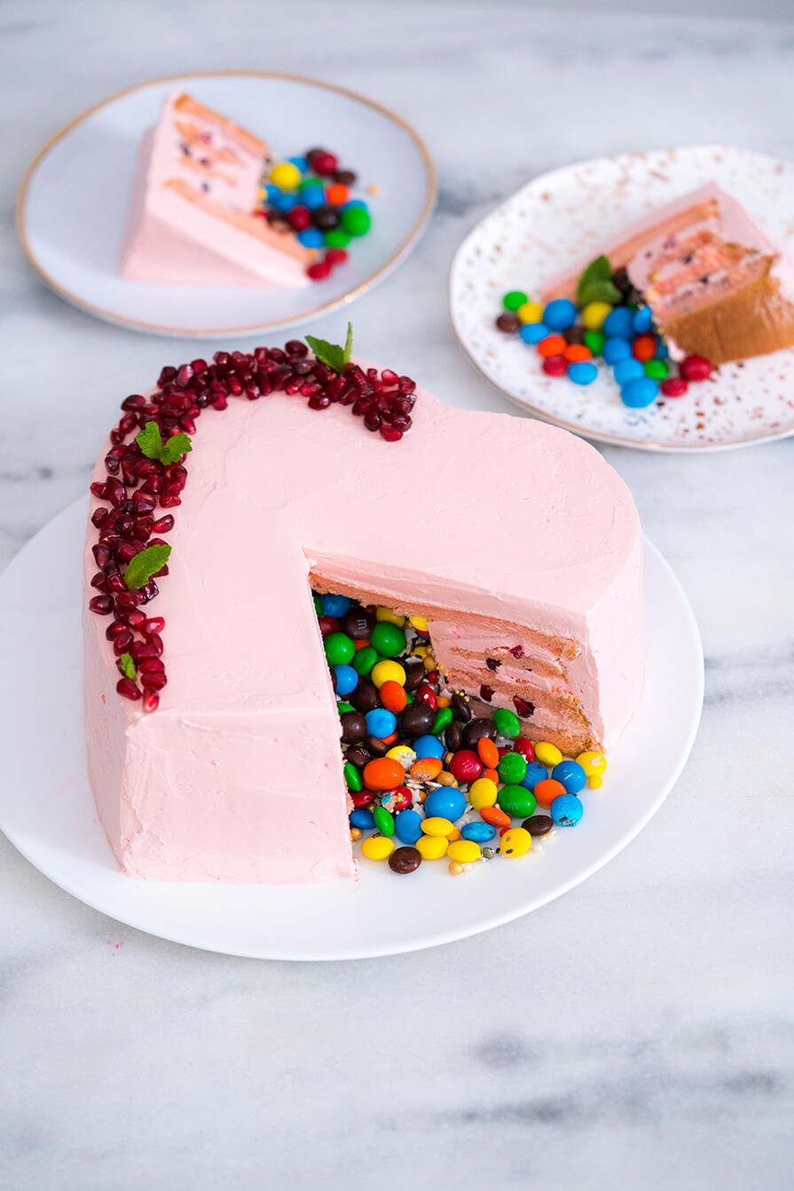 bolo de romã