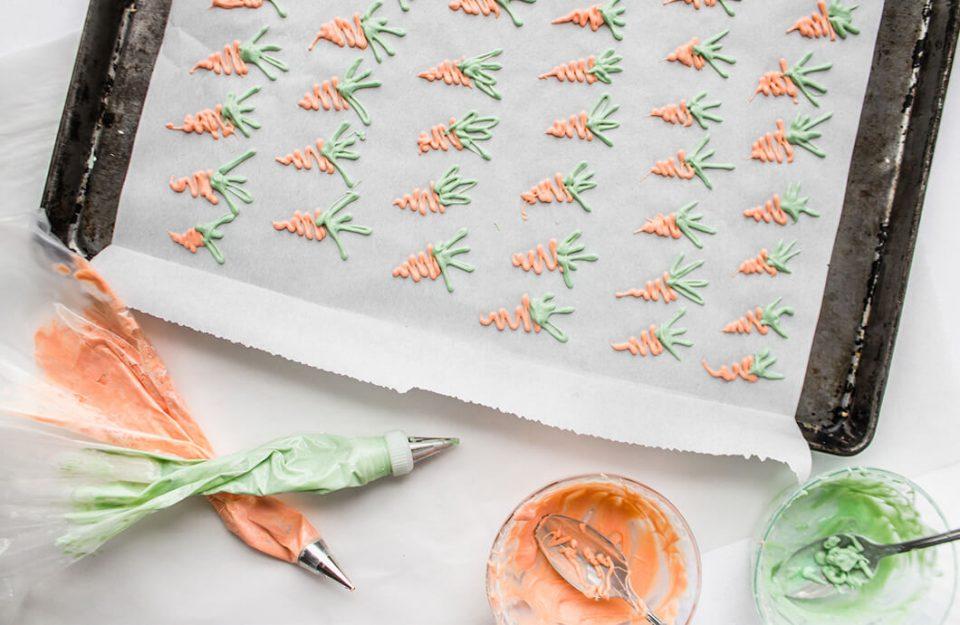 Decoração de Bolo de Cenoura com… Cenoura?