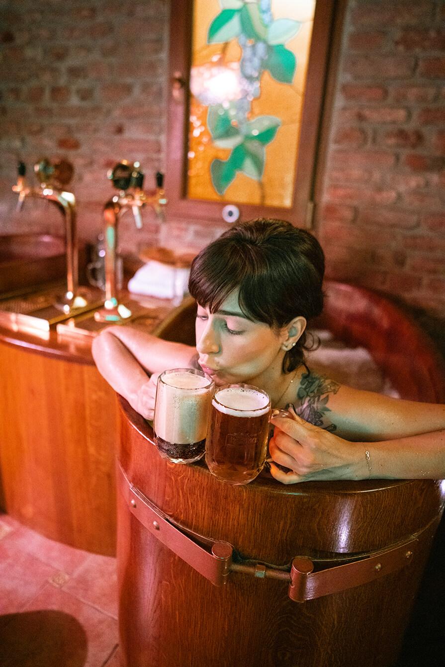 spa de cerveja
