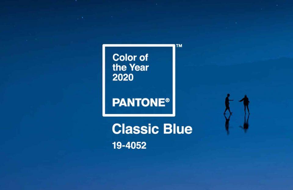 Classic Blue: A Cor Pantone de 2020!