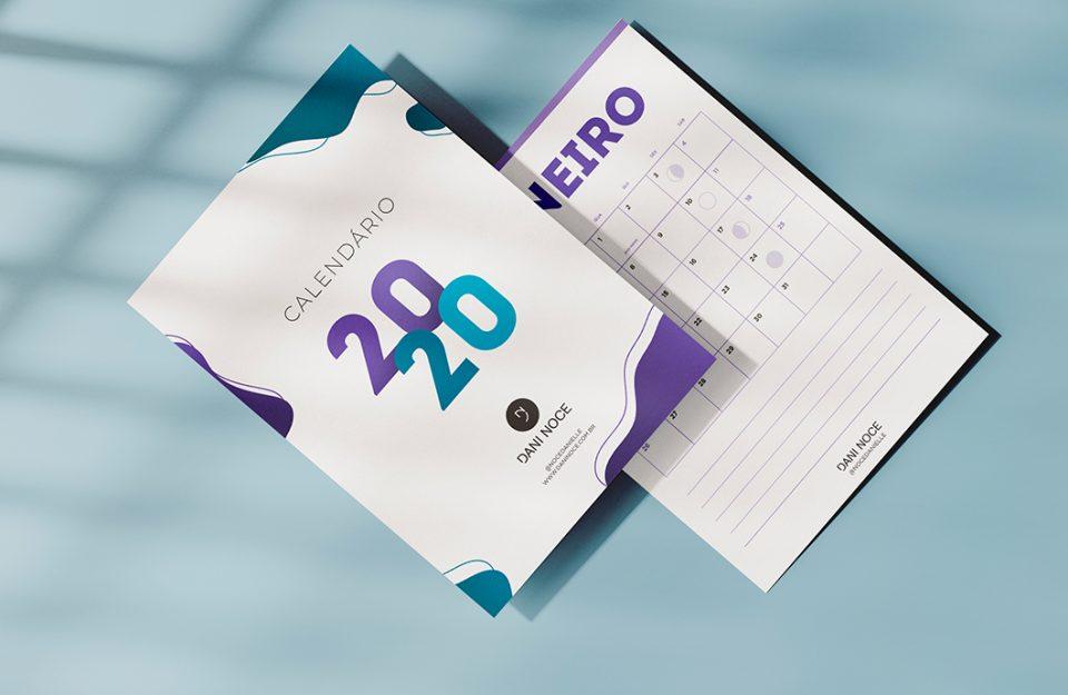 Calendário 2020: Pronto Para Imprimir!