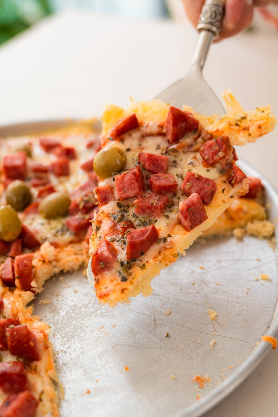 pizza caseira