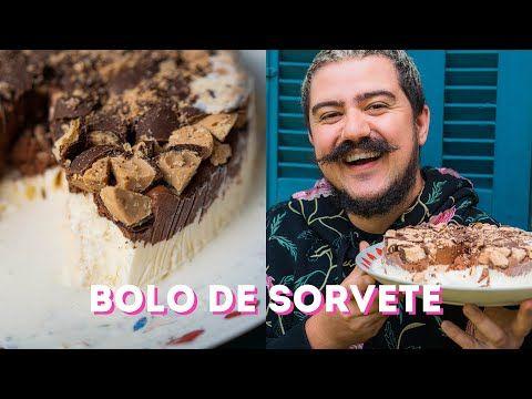 BOLO SORVETE DE CHOCOLATE COM SONHO DE VALSA
