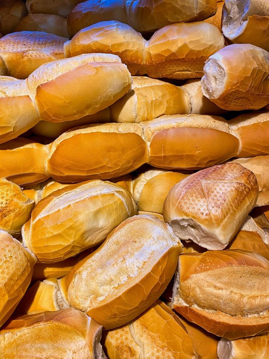 congelar pães