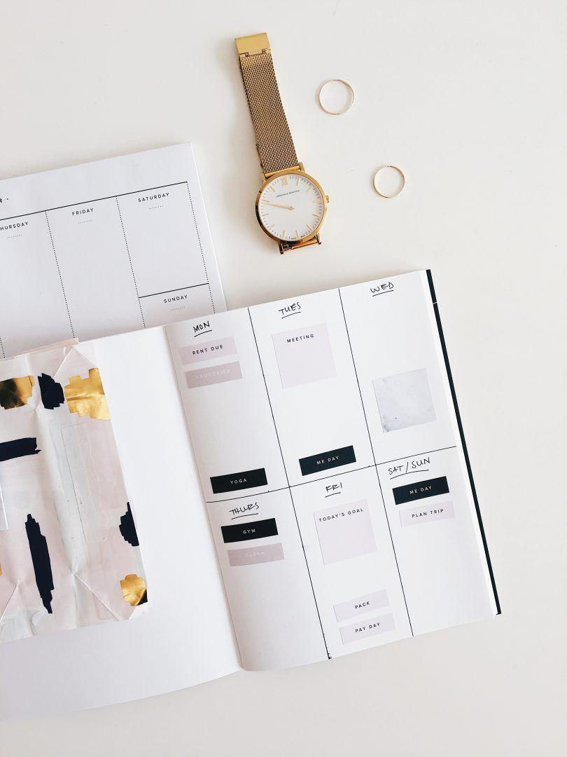 Como planejar a semana? Dicas e reflexões para ter uma rotina mais feliz