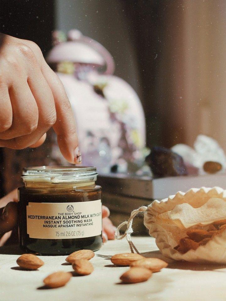 Mediterranean Almond Milk With Oats, da The Body Shop
