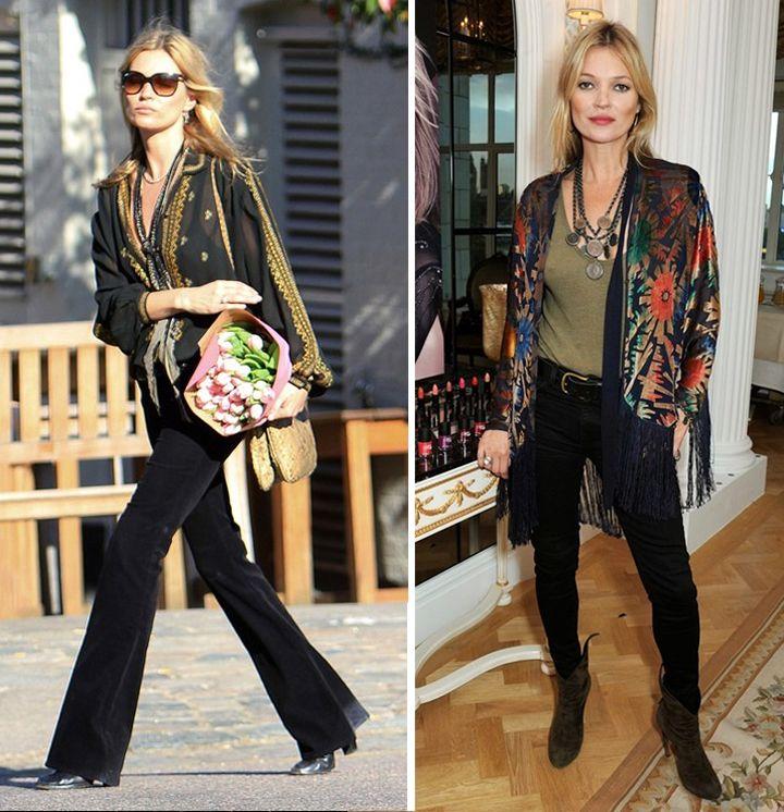 Kate Moss: o que de você tem no seu próprio estilo?