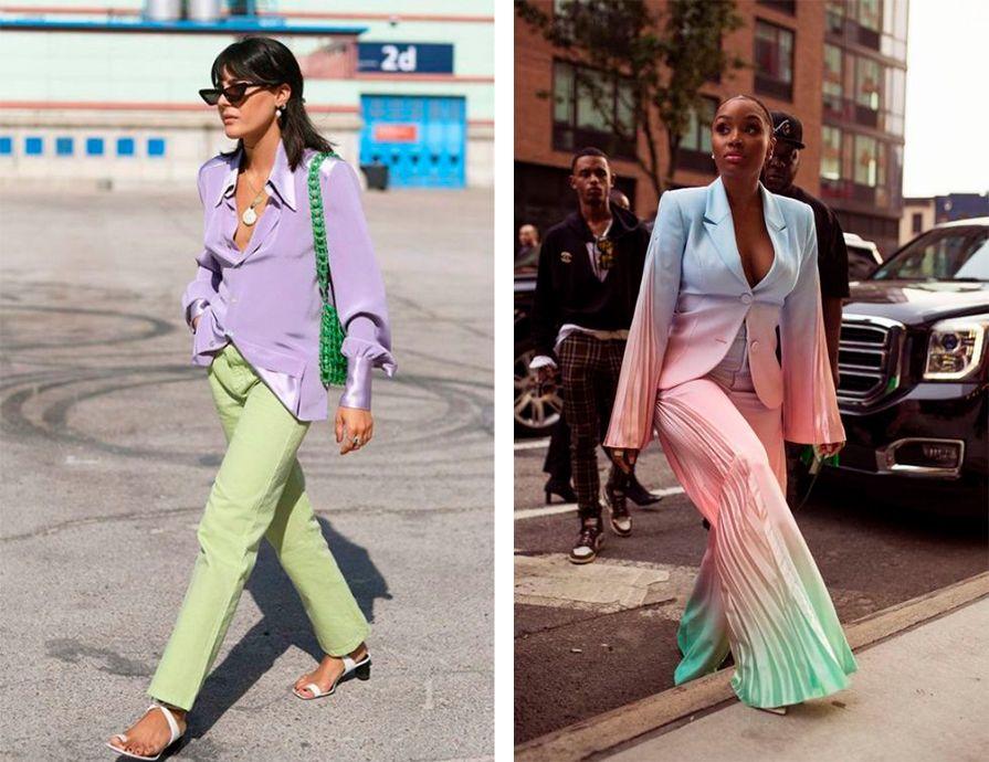 Conjuntos, candy colors e outras tendências que continuam no verão 2021